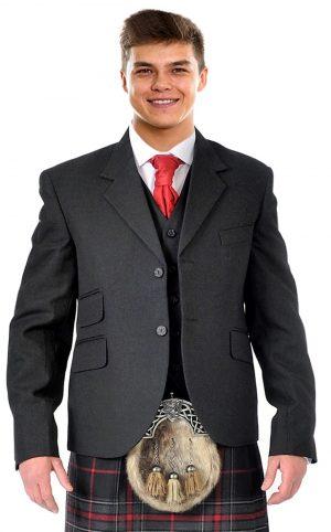 Grey Argyll Jacket