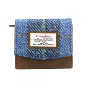 Harris Tweed Castlebay Blue Small Purse
