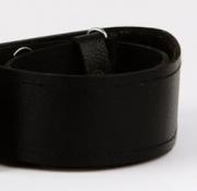 Black Leather Kilt Belt