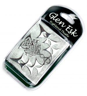 Silver Thistle Chrome Buckle
