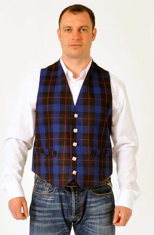Rangers Tartan Waistcoat