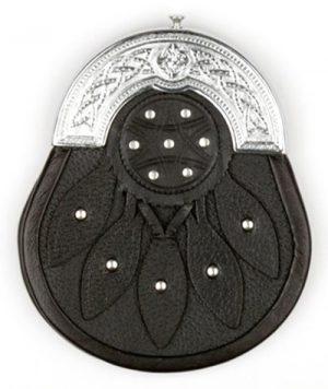 Star Deluxe Leather Sporran