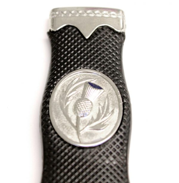 Thistle Badge Safety Sgian Dubh