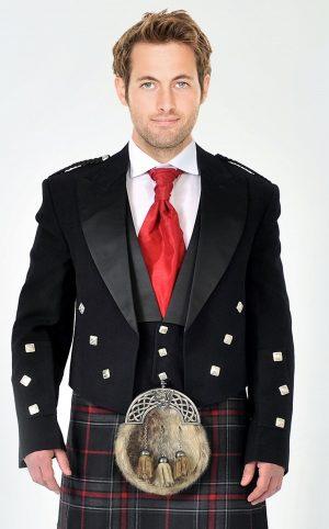 Prince Charlie Kilt Jacket and Vest
